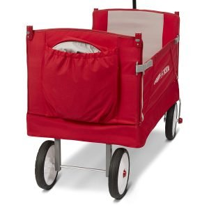 Radio Flyer 3-In-1 EZ Folding Wagon with Canopy-6
