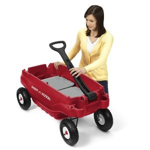 Radio Flyer Deluxe All-Terrain Family Wagon Ride On-1