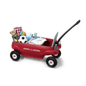 Radio Flyer Deluxe All-Terrain Family Wagon Ride On-4