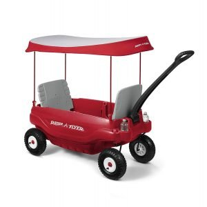 Radio Flyer Deluxe All-Terrain Family Wagon Ride On