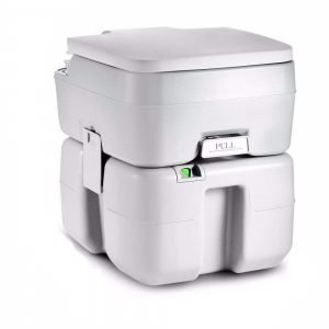 SereneLife Outdoor Portable Toilet 1 300x300 image
