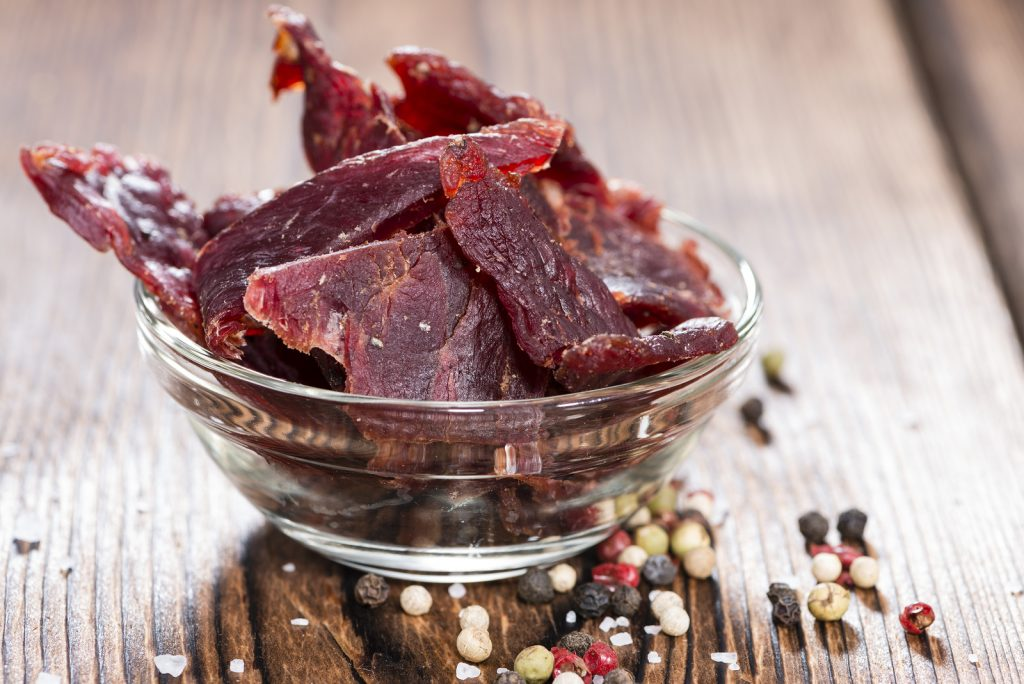 Portion Of Beef Jerky