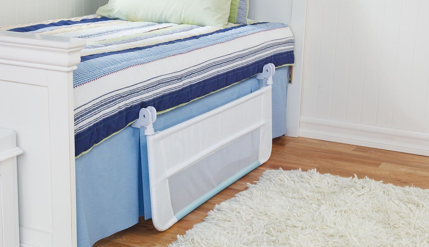 white-toddler-bed-with-rails-toddler-bed-guard-for-double-bed-Toddler-Bed-Safety-Rails