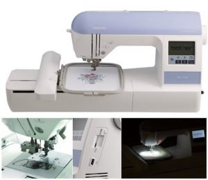 Brother Embroidery Machine PE770-1