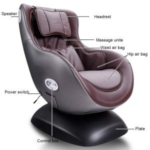Giantex Leisure Curved Massage Chair-1
