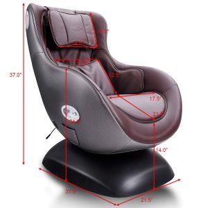 Giantex Leisure Curved Massage Chair-3