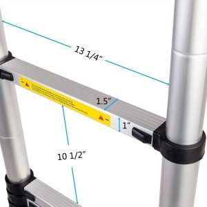 Luisladders Oshion Telescopic Ladder-5