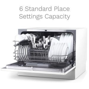 hOmeLabs Compact Countertop Dishwasher-2