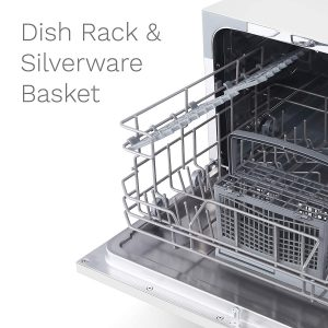 hOmeLabs Compact Countertop Dishwasher-3
