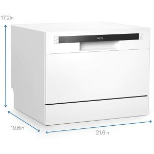 hOmeLabs Compact Countertop Dishwasher-5