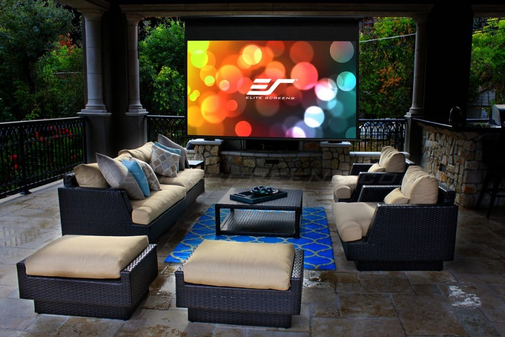 Top 5 Outdoor Projector Screens with Fantastic Image Quality