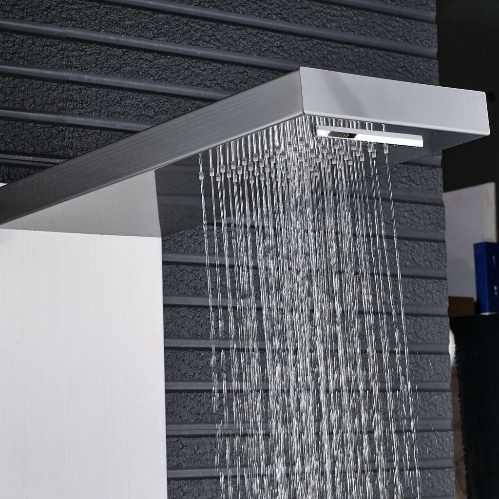 7 Awesome Shower Panels for Your Bathroom