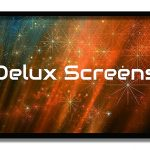 Delux Screens 150 inch Ambient Light Rejecting 4K-8K Ultra HDR Projector Screen