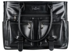 6 Pack Fitness Renee Leather Tote
