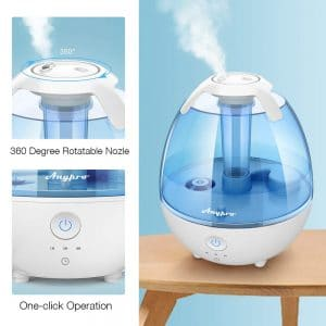 Anypro Cool Mist one-click operation