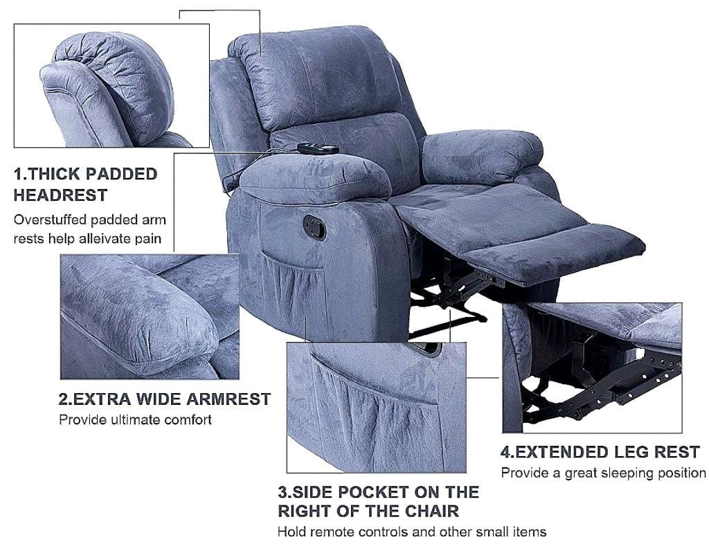 5 Most Comfy Recliners for Sleeping – Best Picks of 2021