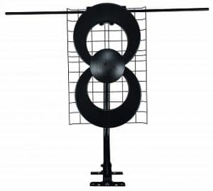 ClearStream 2MAX UHF VHF Indoor Outdoor HDTV Antenna with 20 Mast small
