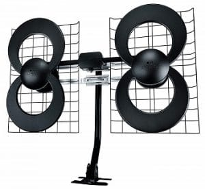 ClearStream 4MAX UHF VHF Indoor Outdoor HDTV Antenna with 20 Mast small