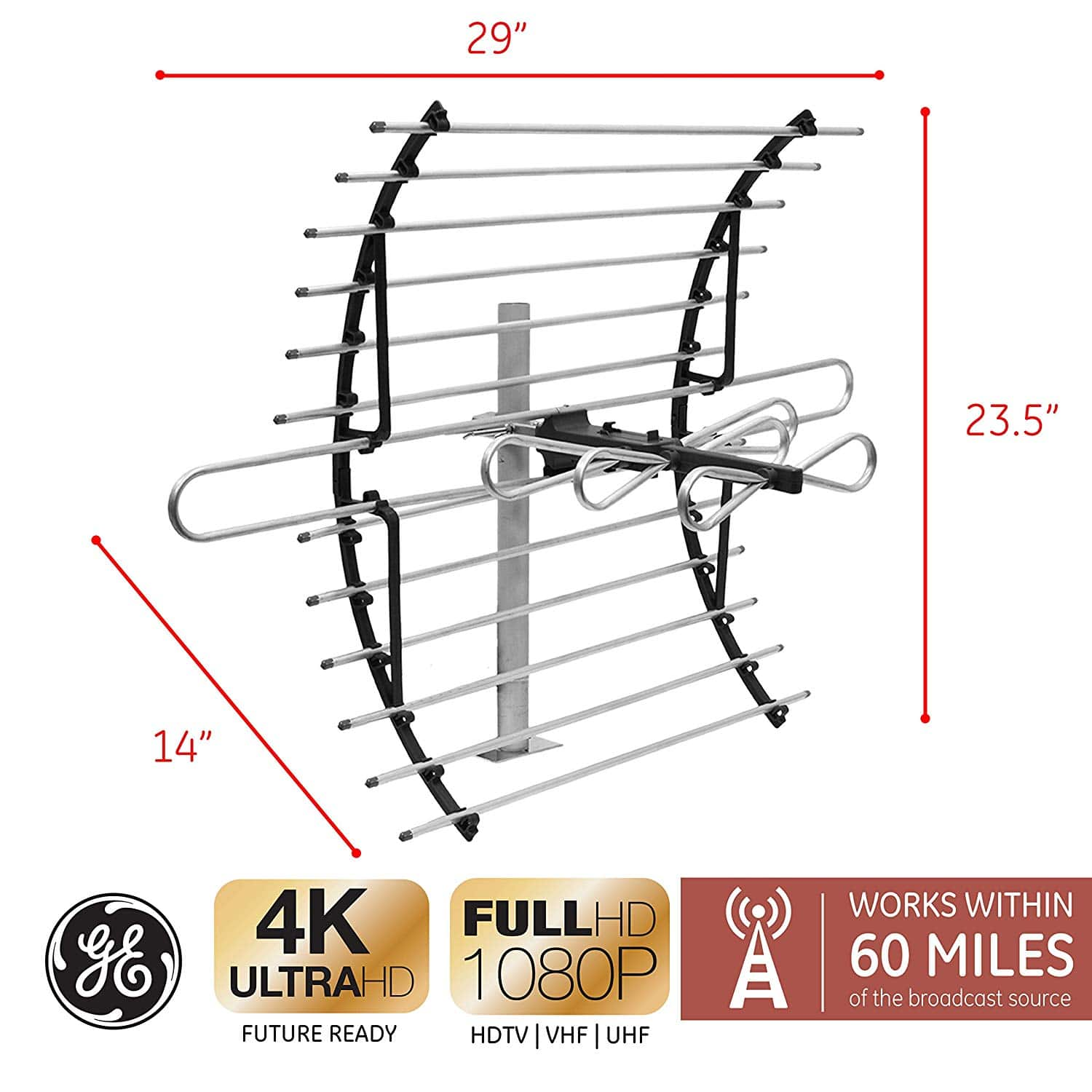 10 Best Attic Antennas Oct 2019 Reviews Amp Buying Guide