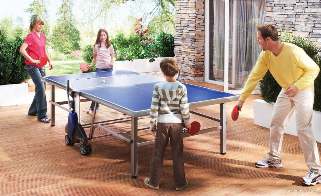 8 All-Season Outdoor Ping Pong Tables - Have Fun And Forget About The Weather