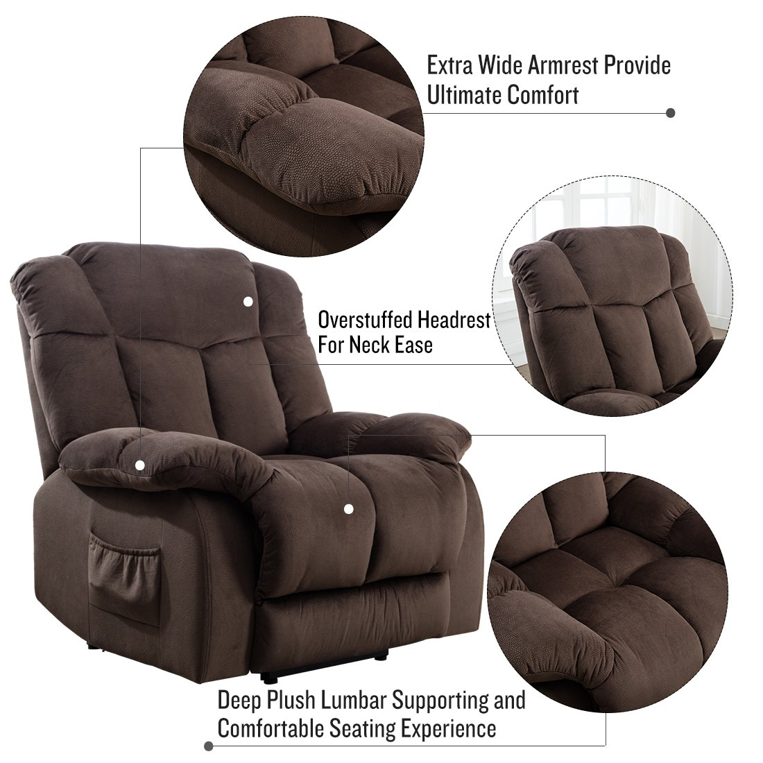 Miraculous 5 Best Recliners For Sleeping Dec 2019 Reviews Buying Machost Co Dining Chair Design Ideas Machostcouk