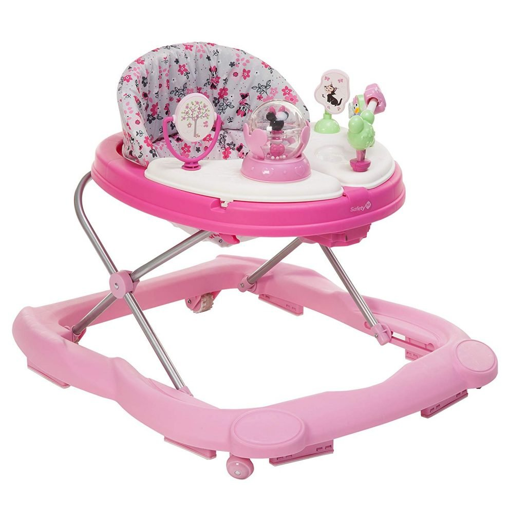 Disney Baby Minnie Mouse Music and Lights Baby Walker (1)