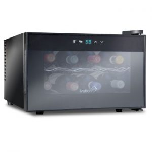 Ivation 8 Bottle Countertop Thermoelectric Wine Cooler350
