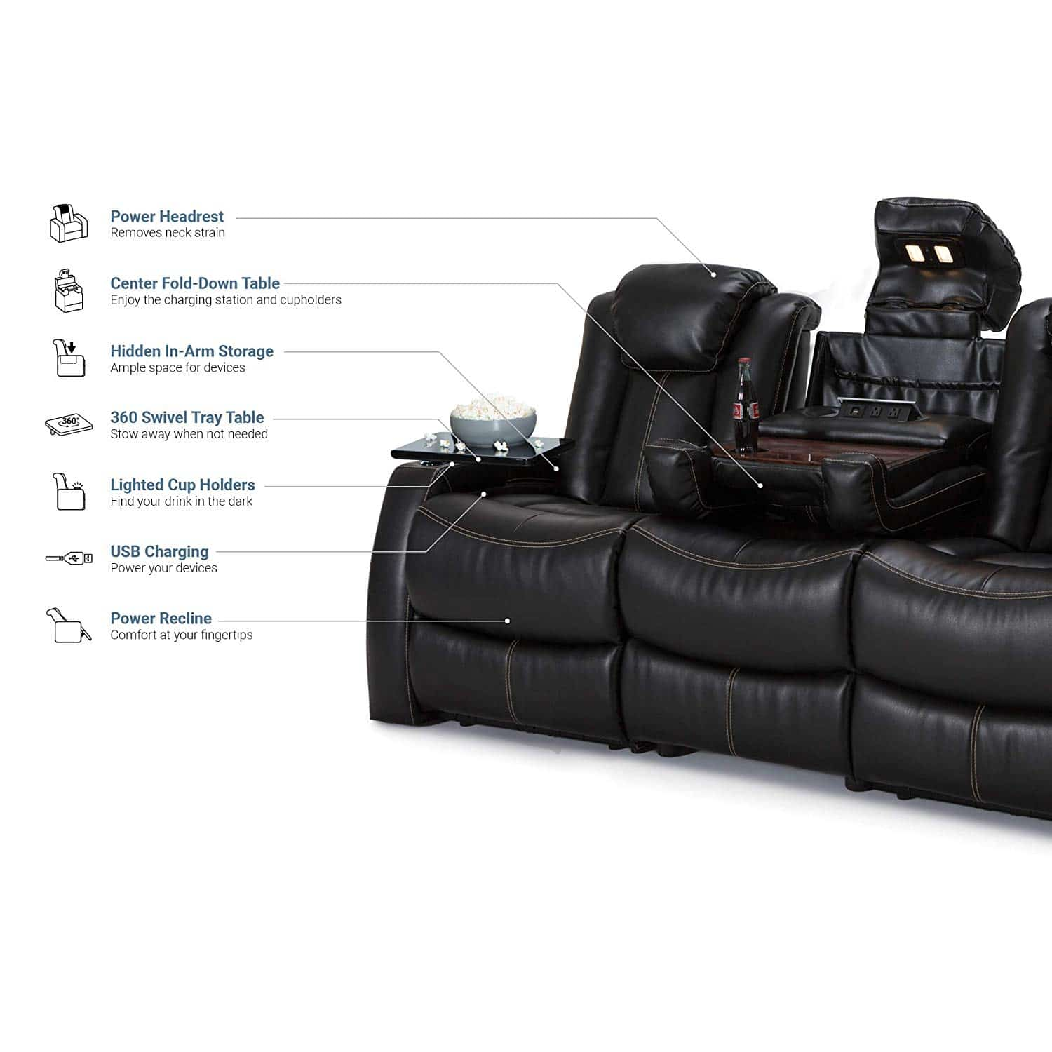 5 Best Reclining Sofas Dec 2019 Reviews Buying Guide