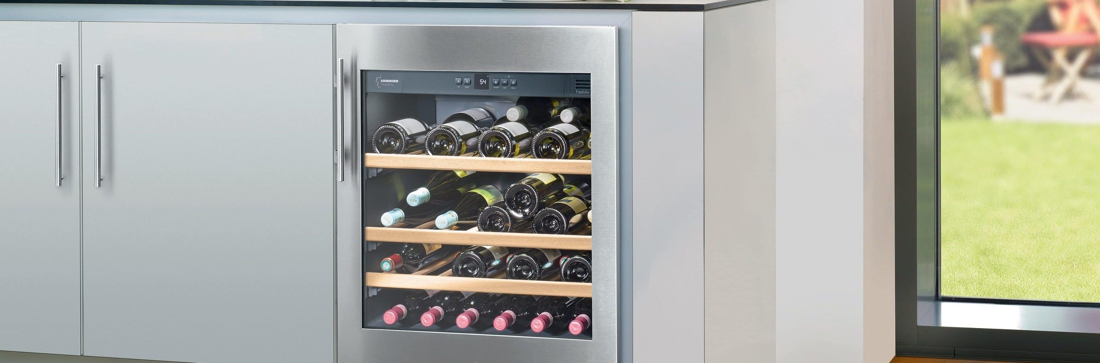 Best Under Counter Wine Coolers
