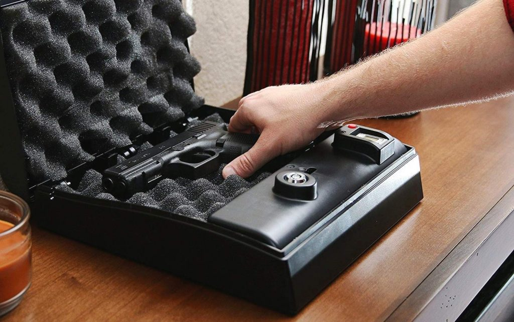 6 Compact Bedside Gun Safes — Feel Secure at Any Time of Day and Night!