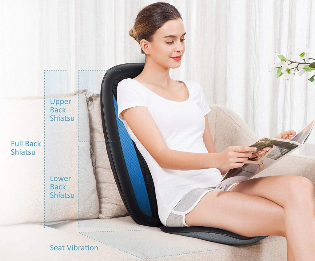 8 Best Massage Cushions to Relieve Pain in Your Back, Neck, Shoulders and Hips!