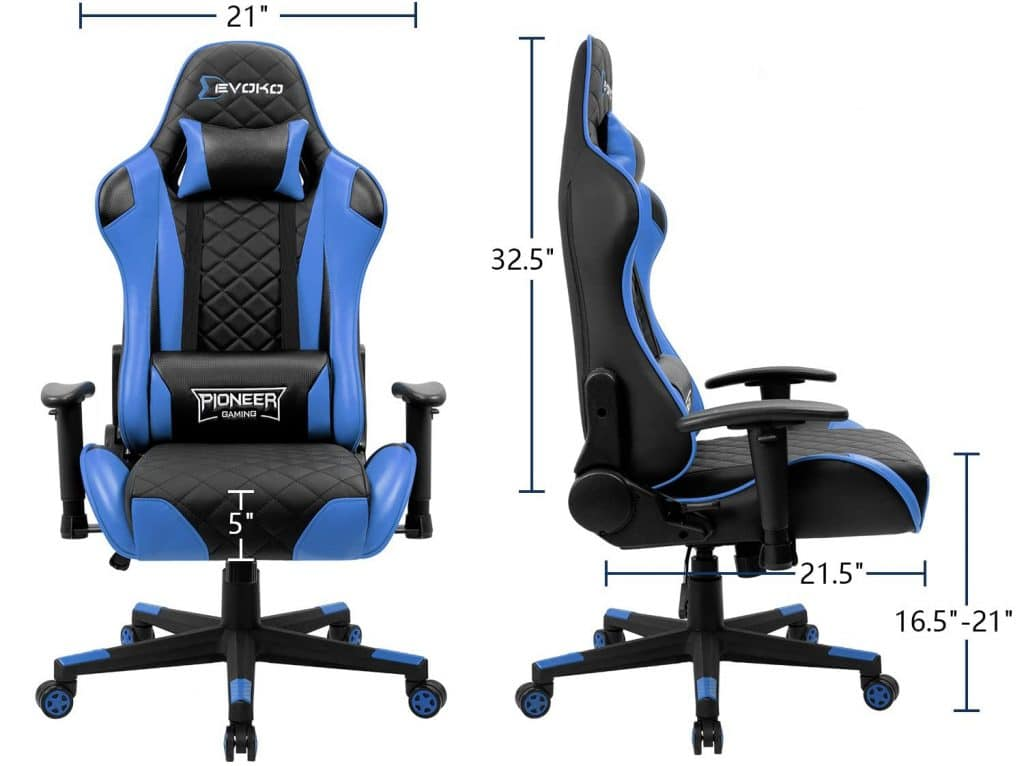 10 Best Big and Tall Gaming Chairs – Longer Gaming Sessions without Pain or Strain!
