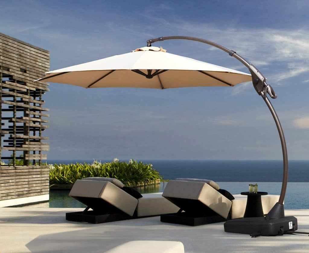 6 Greatest Pool Umbrellas — Enjoy the Sunny Days in Safety and Comfort!