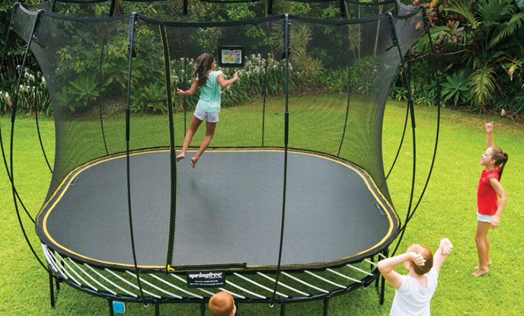 8 Spectacular Trampolines for Kids — Combine Fun with Sports!