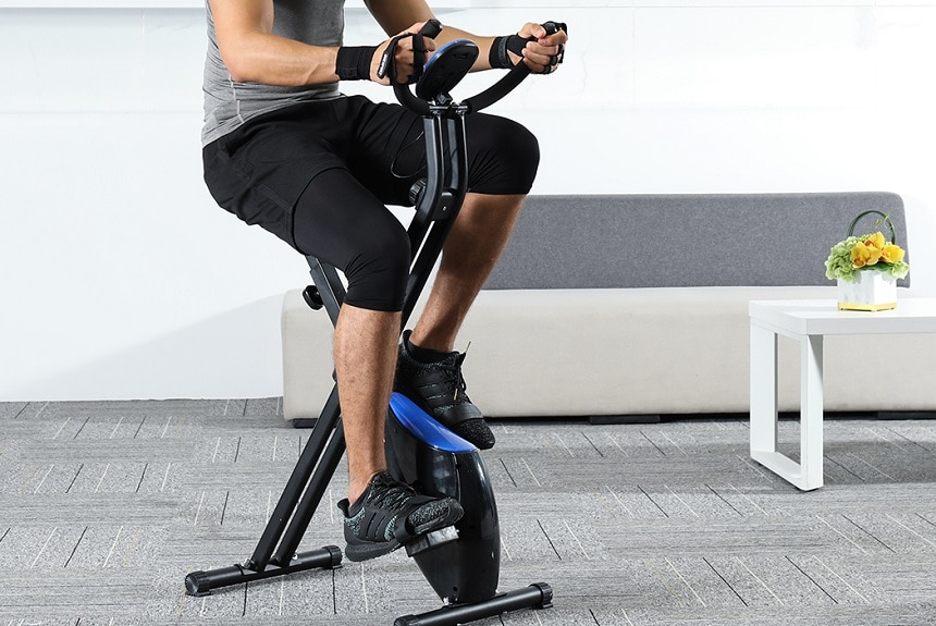 5 Best Folding Exercise Bikes – Quality Sports Equipment with No Much Space Needed!