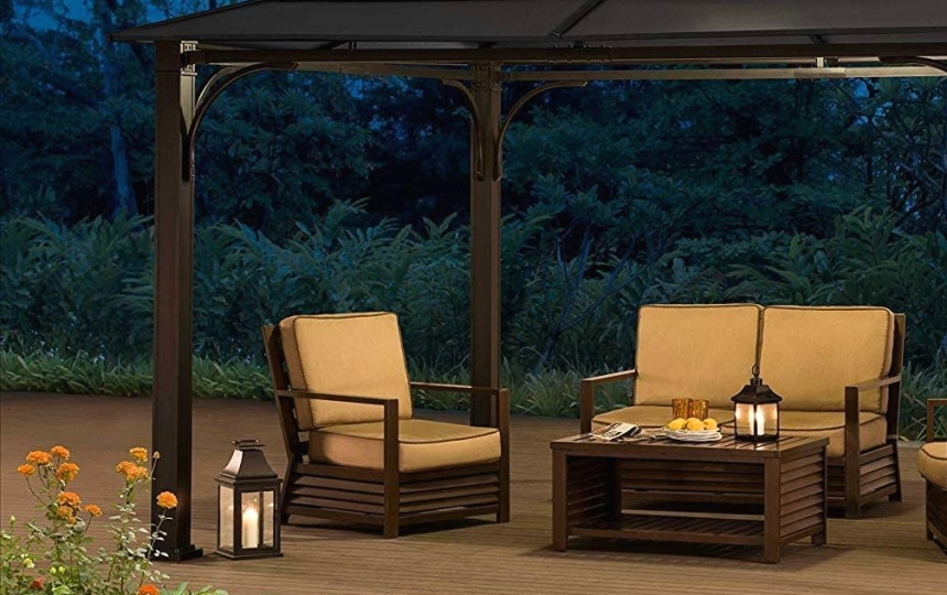 10 Best Gazebos for High Winds - Power to Withstand Almoste a Hurricane