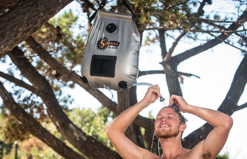 6 Best Solar Showers - Showering Can Be Done Anywhere