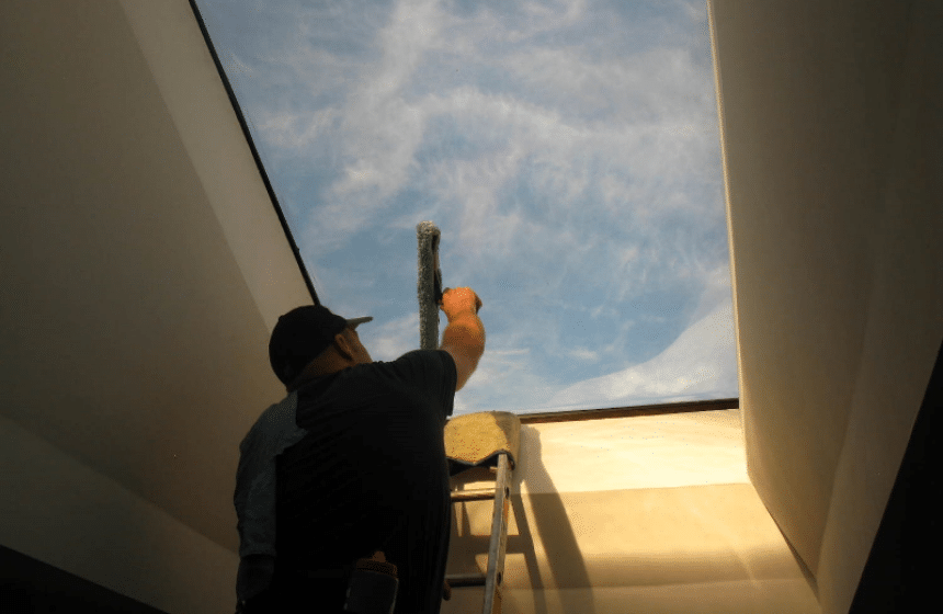 How to Clean Skylights?