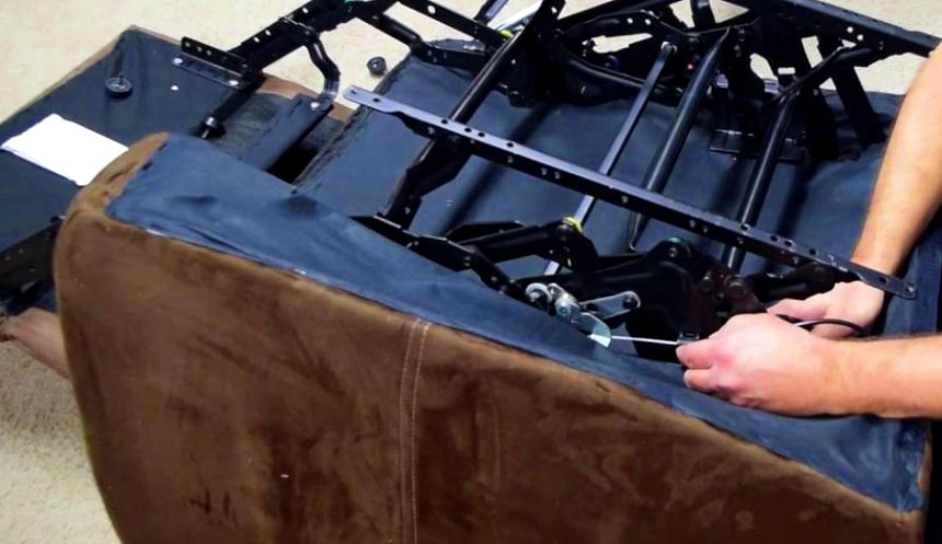 How to Take Apart a Recliner in 7 Steps