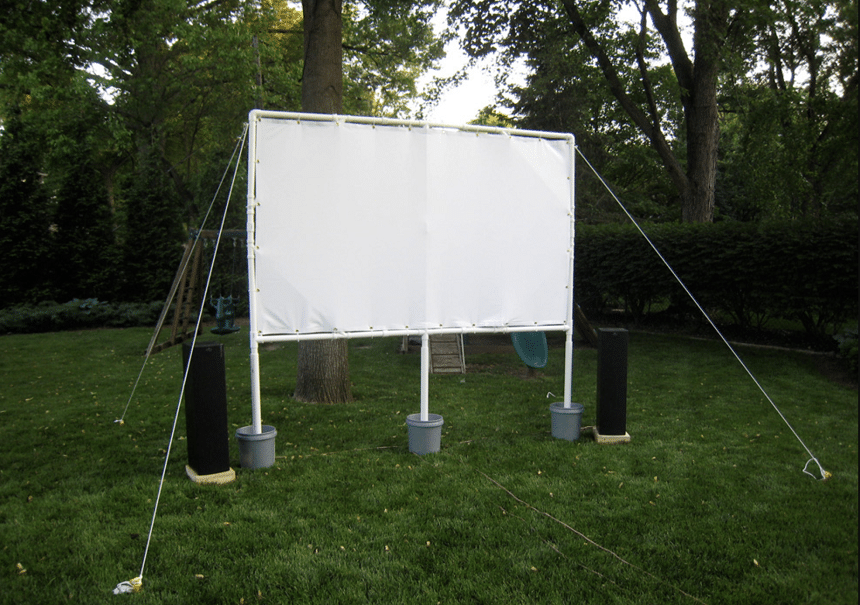 5 Ways to Make DIY Projector Screen for Home and Outdoors