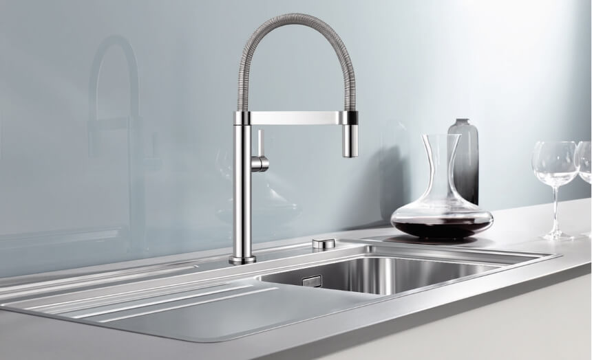 17 Types of Kitchen Faucets - All Uses, Materials and Mounting styles