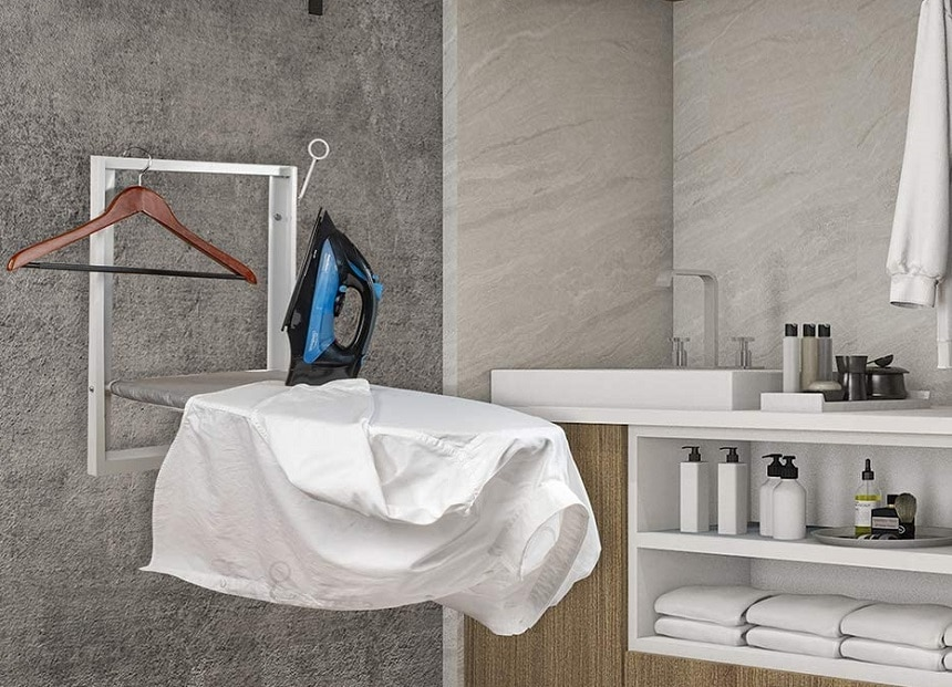 6 Amazing Wall Mounted Ironing Boards - Compact and Convenient Storage