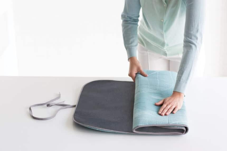 How to Iron Without an Ironing Board?