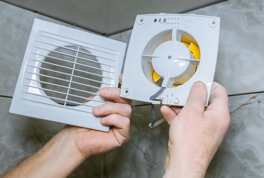How to Install a Bathroom Fan without Attic Access