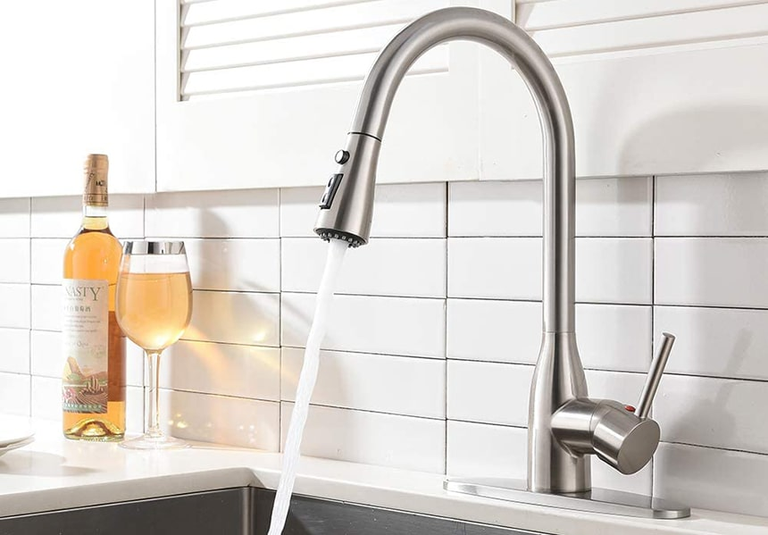 Top 10 Kitchen Faucets Available to Buy under $100 – Excellent Quality for the Price