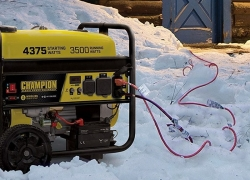 How to Run a Generator in Rain, Snow or Wet Weather