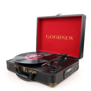GOODNEW Vinyl Record Player